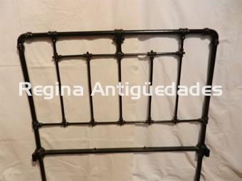 Antiguos cabeceros de hierro forjado armarios y camas - Cabeceros de hierro ...